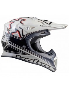 CASCO HEBO ENDURO MX FIBRA...