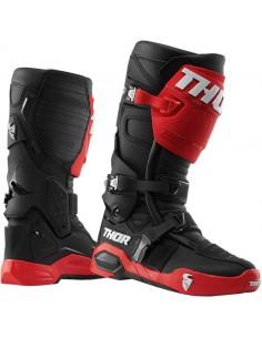 Botas Thor Radial negro/rojo