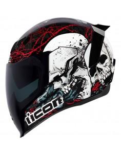 Casco ICON Airflite Skull...