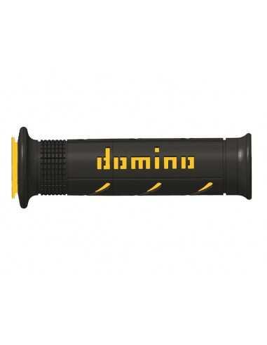 Puños Domino XM2 negro/amarillo