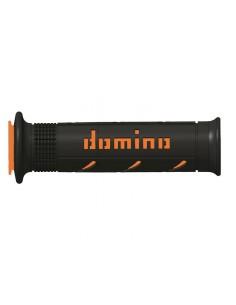 Puños Domino XM2 negro/naranja