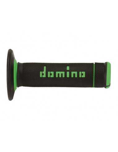 Puños Domino OffRoad Extrem negro/verde