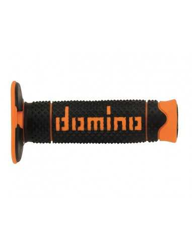 Puños Domino Off Road DSH negro/naranja