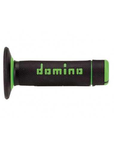 Puños Domino cross negro/verde