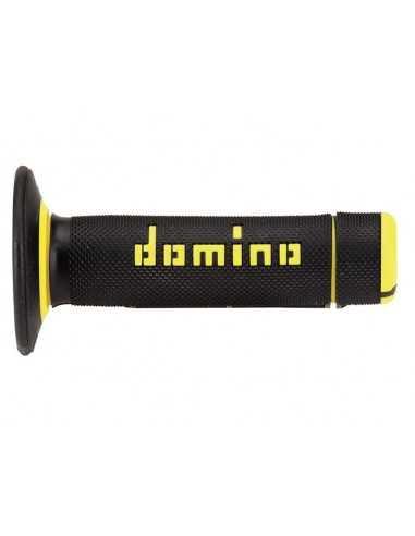 Puños Domino cross negro/amarillo