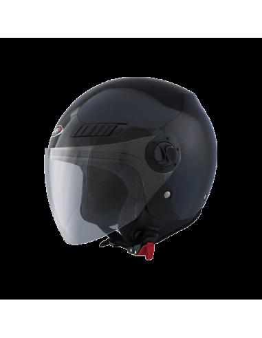 Casco Shiro Sh-62 Gs Negro