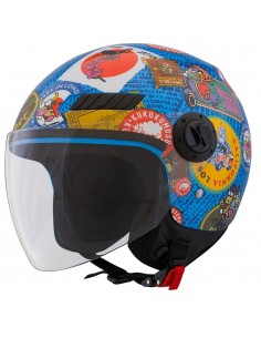 Casco Shiro SH-62 TRAVELSTAMPS