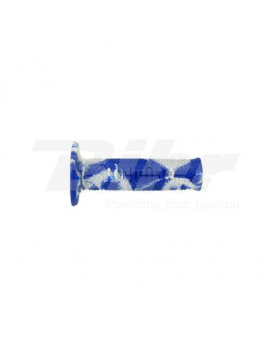 Puños Domino OffRoad Snake azul/blanco