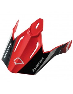 Visera Legend Carbon Rojo