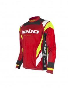 Camiseta Hebo Race Pro IV rojo