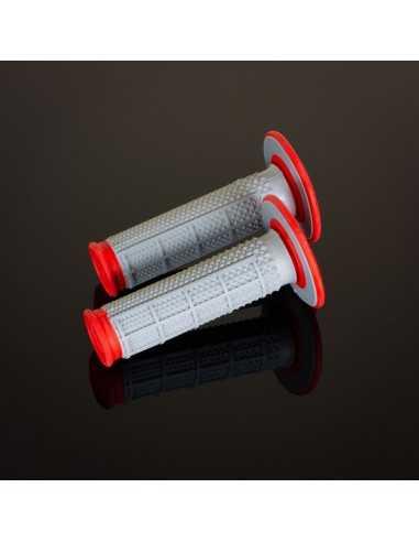 Puños Renthal MX Dual Tapered rojo G163
