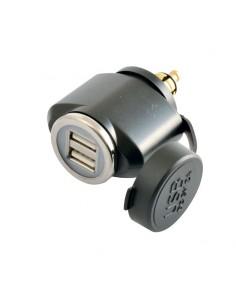 CARGADOR DOBLE USB DIN...