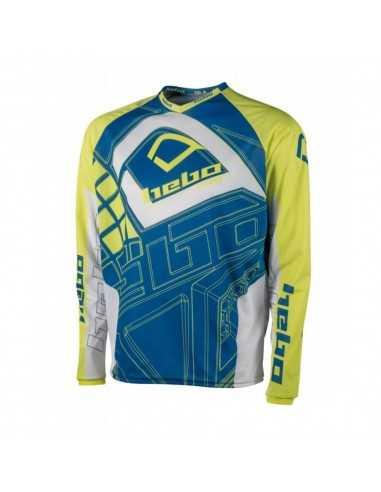 Camiseta Hebo Trial Pro Junior Lima