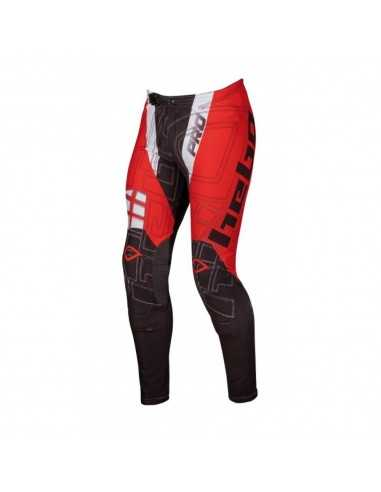 Pantalon Trial Pro Junior Rojo