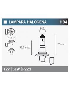 Lampara OSRAM 9006 HB4