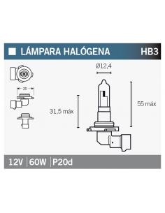 Lampara OSRAM 9005-01B HB3
