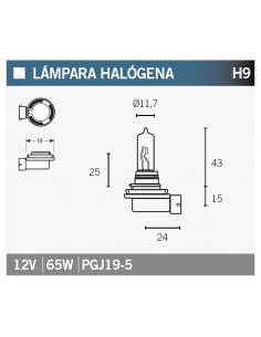 Lampara OSRAM 64213 H9
