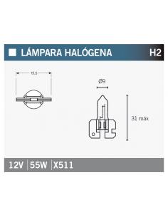 Lampara OSRAM 64173 H2