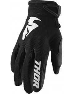 Guantes THOR S20 SECTOR BLK