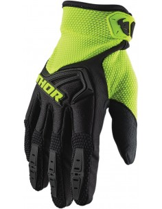 Guantes THOR S20Y SPECT BK/AC