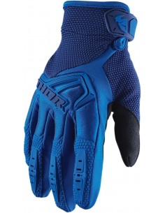 Guantes THOR S20Y SPECT BLUE