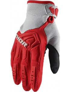 Guantes THOR S20Y SPECT RD/GY