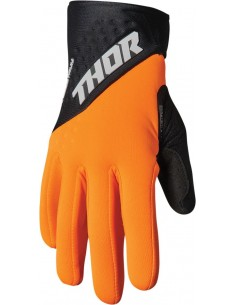 Guantes THOR SPECT COLD OR/BK