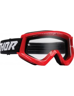 Gafas THOR COMBAT RED/BLACK