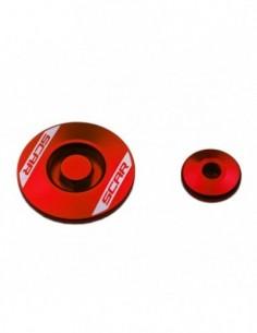 Tapón motor Scar rojo