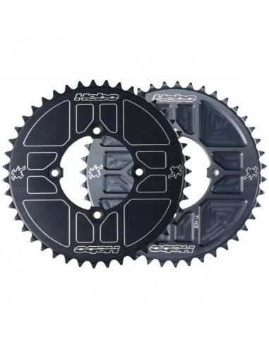 Corona Hebo Trial aluminio negro
